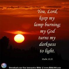 Keep Your Lamp Burning