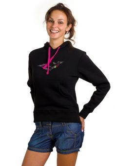 Donna Sweatshirt Black Athletic, Zip, Lady, Sweatshirts, Jackets, Shopping, Fashion, Down Jackets, Moda