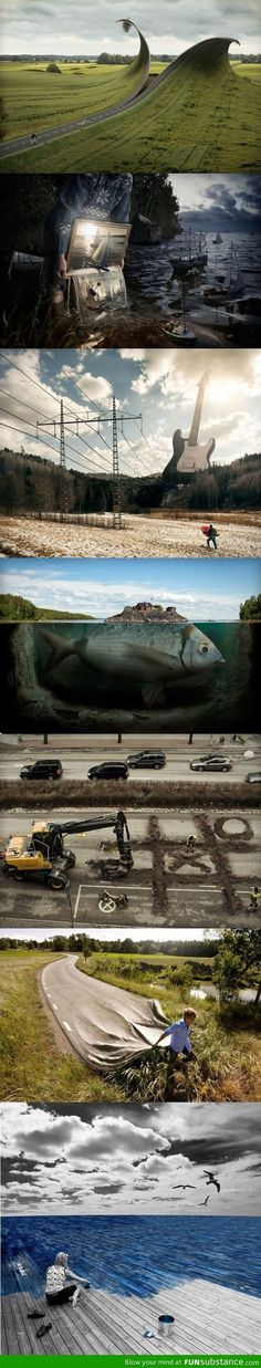 Works by Photoshop Genius Erik Johansson - FunSubstance.com