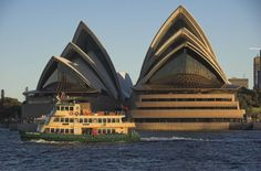 Built by Jørn Utzon in Sydney, Australia with date Images by Jozef Vissel. There are few buildings as famous as the Sydney Opera House in Sydney, Australia. Arguably considered the eighth wond. Sidney Opera, Jorn Utzon, Famous Architects, Sydney Australia, Wonders Of The World, Modern Architecture, Opera House, Classic, Places