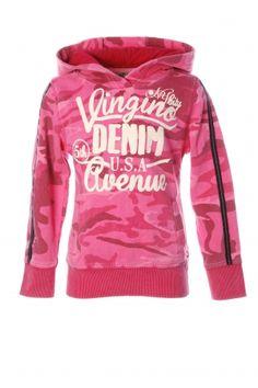 Vingino Hoody in camouflage print. Fashion for kids. Kinderkleding meisjes. Koflo.nl