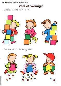 opdracht kleuterklas veel of weinig tellen wiskunde speelgoed blokken bouwen Kindergarten, Speech Therapy, Kids And Parenting, Crafts For Kids, Mini, Clip Art, Teaching, Activities, Comics