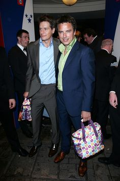 John Barrowman Photos - John Barrowman and his husband Scott Gill exits the TV Choice Awards at London's Dorchester hotel. - Celebrities Leave the TV Choice Awards