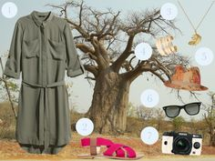 What to wear on a safari in Africa. Don't pack old, boring clothes. Here's how to look chic and dress smart when you're spotting wildlife.