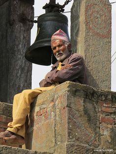 al Tempio di Uma Maheshwar (Kirtipur, Nepal)