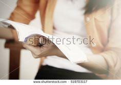 Woman reading a book. Education concept.