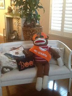 S.F. Giants sock monkey fan