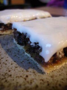 Sweet and fruity Scottish border tart. Irish Desserts, Scottish Desserts, Scottish Dishes, Just Desserts, Tart Recipes, Sweet Recipes, Dessert Recipes, Cooking Recipes, Cooking Bacon