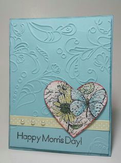 Stampin Up Mother's Day card..designed by EEG