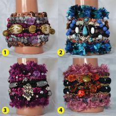 Gypsy Summer Collection Locker Hook Cuff by vitbich on Etsy, $35.00