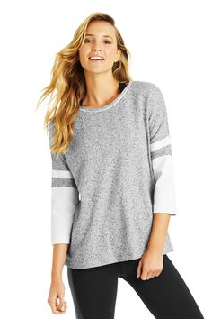Taylor Cropped Slv Sweat | Leisure & Travel | Activities | Styles | Shop | Categories | Lorna Jane Site