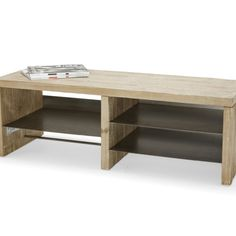 Slice TV Stand | Chunky Wood TV Stand Slice - TV stands | Loaf