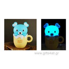 Φωτιστικό Αρκουδάκι σε κούπα Cool Gifts, Pikachu, Gift Ideas, Fictional Characters, Art, Art Background, Kunst, Performing Arts, Fantasy Characters