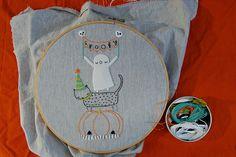 cute halloween stitching