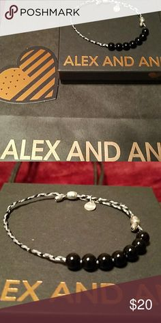 Alex and Ani bracelet Precious threads...new in box Alex and Ani Accessories
