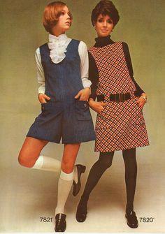 Retro Fashion 1968 Fashion: Part Eight - September 1968 Simplicity Catalog Retro Fashion 60s, 60s Fashion Trends, 70s Inspired Fashion, Mod Fashion, Vintage Fashion, 1960s Fashion Women, Fashion Stores, Fashion Tips, 1960s Outfits