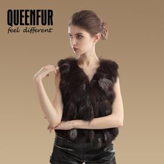 Buy from china:2015 Fashion Nature Silver Fox Fur Vest Real Fur Waistcoat Short Style Warm Fox Fur Outwear