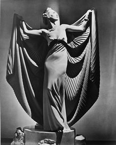 """""""Helen Bennett in Cape, Paris, 1936"""" © Horst P. Horst / Staley-Wise Gallery New York"""