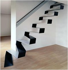 unique designer staircases   I wonder if it would be possible to DIY something like this?
