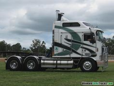 Big Cab KW from the 2010 Lights on the Convoy. Gatton QLD