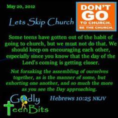 Be the church #devotional #Bible #God #Jesus #Godlyteenbits #christian