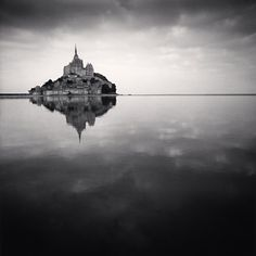 Floating Abbey, Mont St. Michel, France, 2000 - Michael Kenna