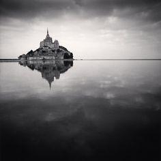 Mont St. Michel - michael kenna