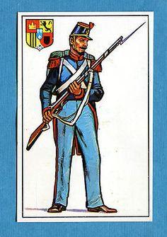 ARMI E SOLDATI - Edis 71 - Figurina-Sticker n. 280 - SOLDATO BORBONICO -Rec
