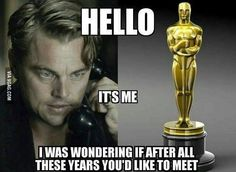 """Oh Leo... maybe one day #9gag @9gagmobile"""