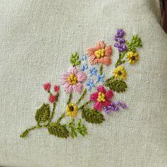custom embroidered flower purse   Aki   Flickr