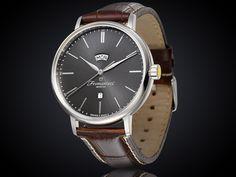 Fromanteel generations horloge met antraciet wijzerplaat GS-0902