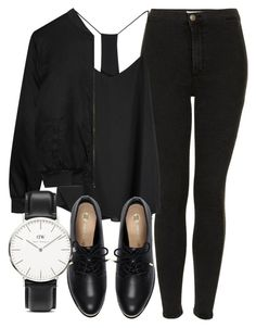 Untitled #4299 by laurenmboot on Polyvore featuring мода, Alygne, Topshop, River Island and Daniel Wellington