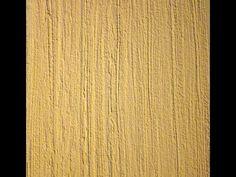 Фактурная штукатурка ВГТ - рисунок щеткой. Textured plaster VGT - painting brush. - YouTube