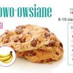 Bananowo-owsiane ciasteczka – Szkolenia dietetyczne