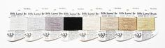 Silk Lame Braid 3.60 Each Rainbow Gallery by terrymillerdesigns