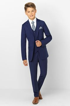 Wedding Suits Shop boys navy suit Monaco at Roco. Boys wedding navy suit with free UK delivery Boys Wedding Suits, Wedding Outfit For Boys, Wedding Navy, Party Wedding, Boys First Communion Outfit, Communion Suits For Boys, Boys Navy Suit, Blue Suits, Women's Suits