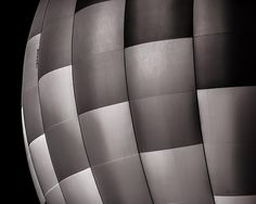 Shades of Gray - Original fine art black and white abstract hot air balloon photography by Bob Orsillo.  Copyright (c)Bob Orsillo / http://orsillo.com - All Rights Reserved.  Buy art online.  Buy photography online