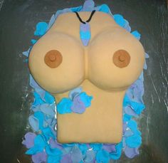 40th Birthday Cake - photo is a little wonky