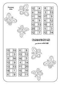Pracovné listy z matematiky - prváci - Nasedeticky.sk Word Search, Words, First Grade, Horse
