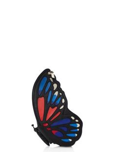 wing it leather butterfly clutch by kate spade new york. Love! Love! Love!