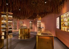 """Aesop ION store in Singapore features Snøhetta-designed """"upside-down forest"""""""