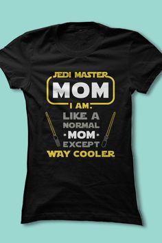 Fun Star Wars shirt for moms!