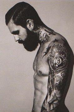 Tattoo full sleeve hot guy