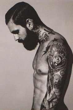 Tags: #Tattoo #Ink #Tattooed #Man #Guy #Body #Modification #Style #Beard