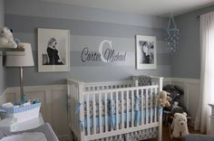 baby boy nursery ide