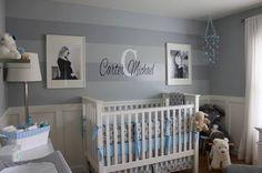 baby boy nursery ide