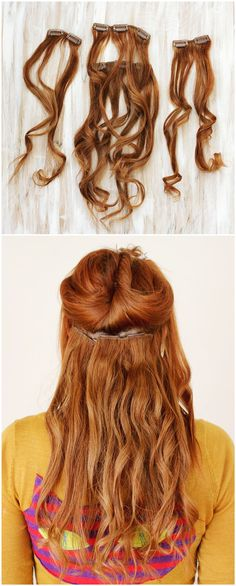 3 populäre Hochsteckfrisuren Anleitungen mit gezwirbelte oder gedrehte Zöpfe. Wenn Sie dafür keine genug Haare haben, können Sie Clip in Haarverlängerung bei de.vpfashion tragen.