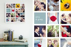 Collage Storyboard Photoshop and InDesign Templates for Photographers
