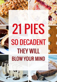 21 Decadent Pies that Will Blow Your Mind – Parade Peanut Butter Mousse Pie, Quick And Easy Sweet Treats, Strawberry Hand Pies, Flakey Pie Crust, Mississippi Mud Pie, Crack Pie, Salted Caramel Apple Pie, Best Key Lime Pie, Keylime Pie Recipe