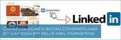 Como colocar o botão Compartilhar do Linkedin em seu E-mail Marketing   Ademir Diniz